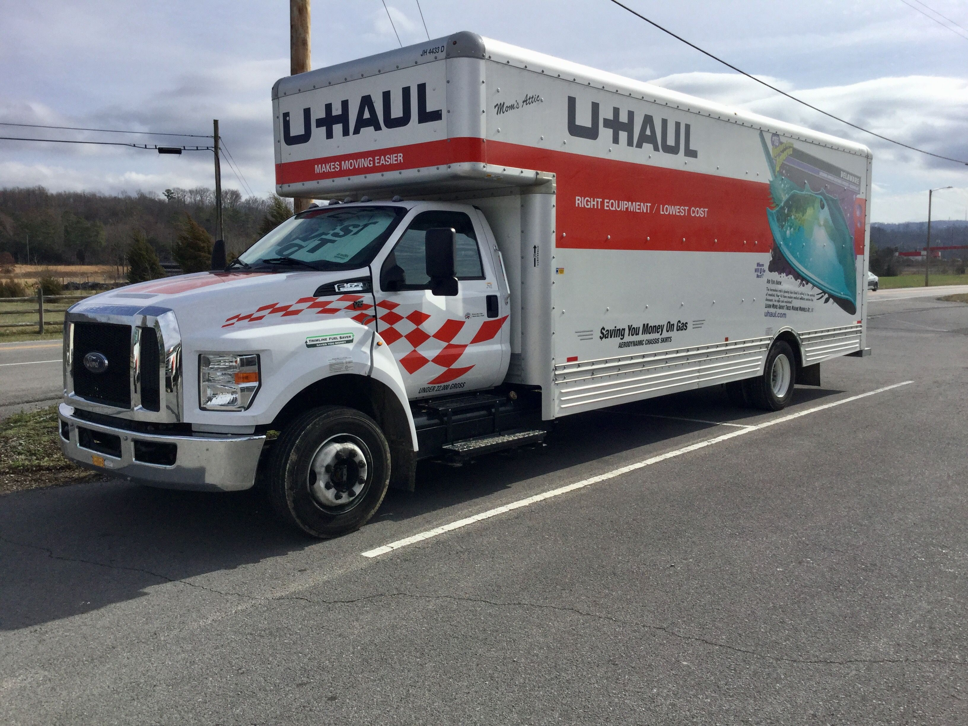 Box Truck Uhaul In 2020 Uhaul Truck Uhaul Trucks