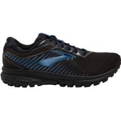 Photo of Brooks men's trail running shoes Ghost 12 Gtx, size 45 in black / blue, size 45 in black / blue Br