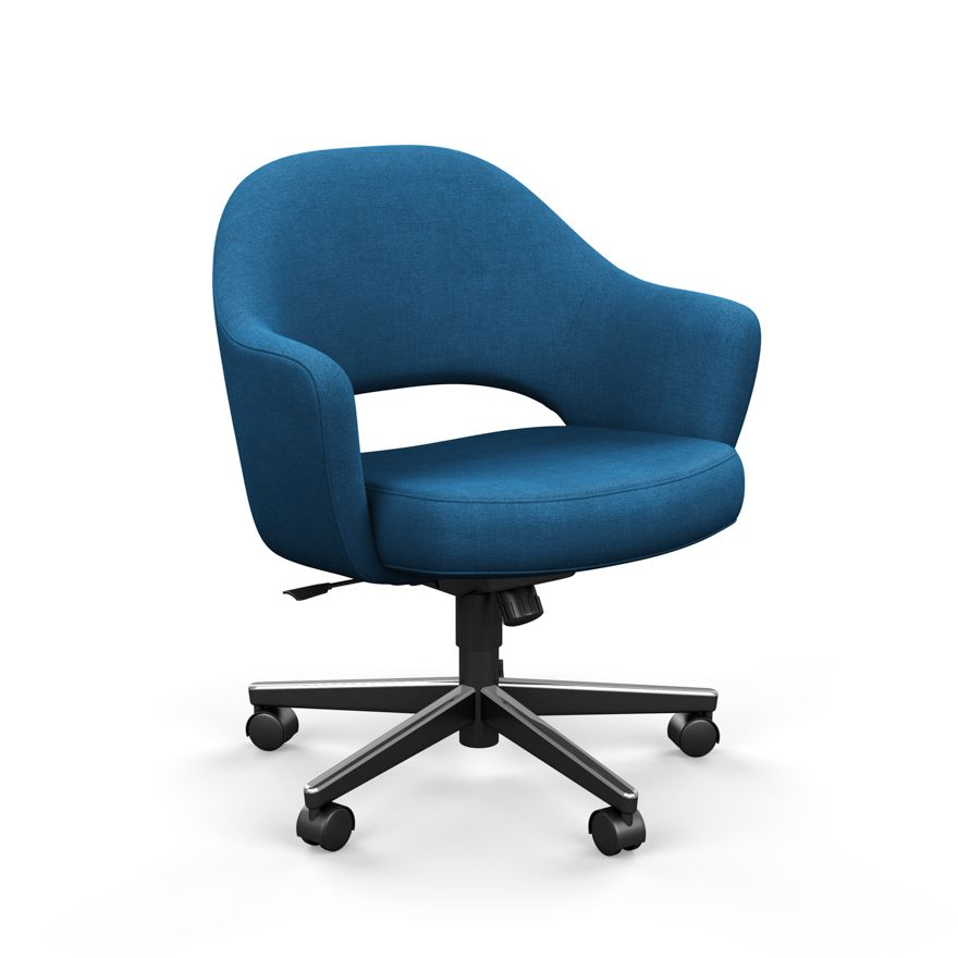 Saarinen Executive Arm Chair With Swivel Base Knoll Chair