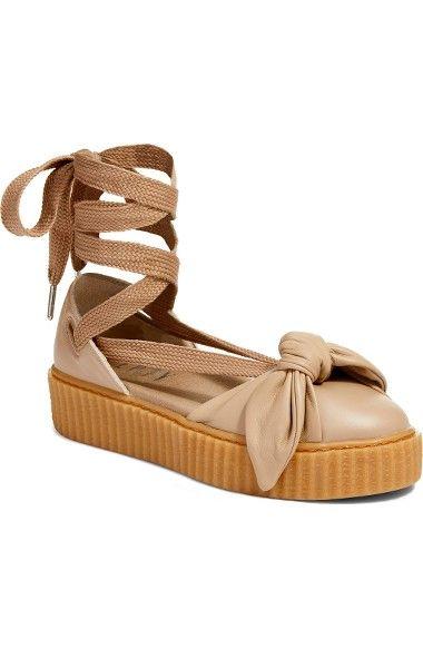 PUMA Fenty Puma By Rihanna Bow Creeper Sandal. #puma #shoes #sandals