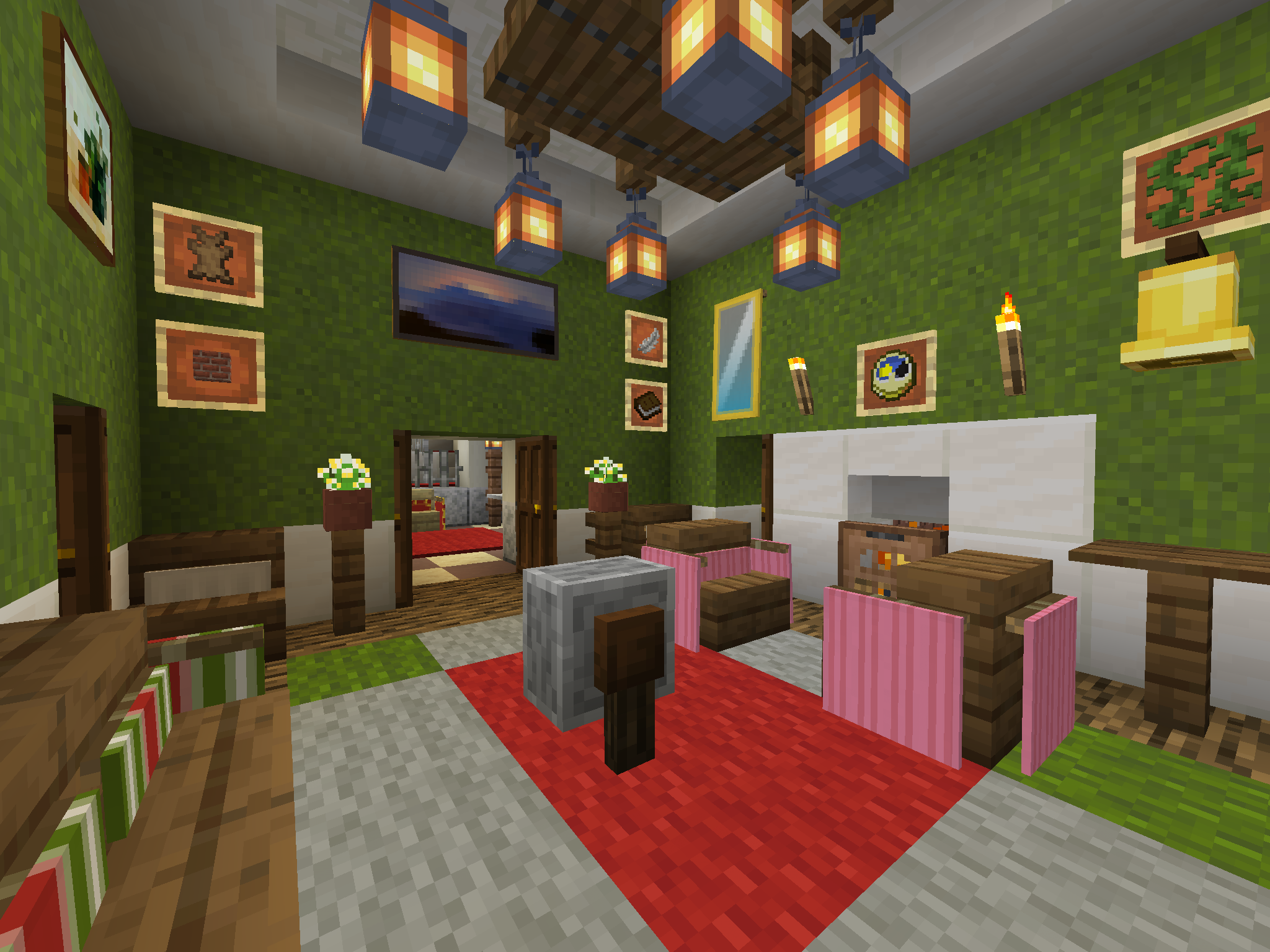 Pin By Bethan Walker On Minecraft House Interior Designs Cool Minecraft Houses Minecraft Castle Minecraft Houses
