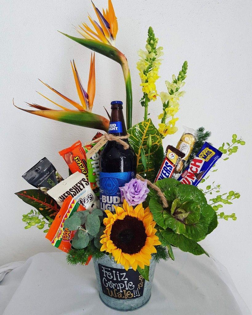 Arreglo Para Caballero Con Cerveza Y Botanas Flowers
