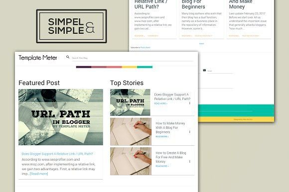 Sands The Simple Blogger Template Blogger Templates Templates Web Themes