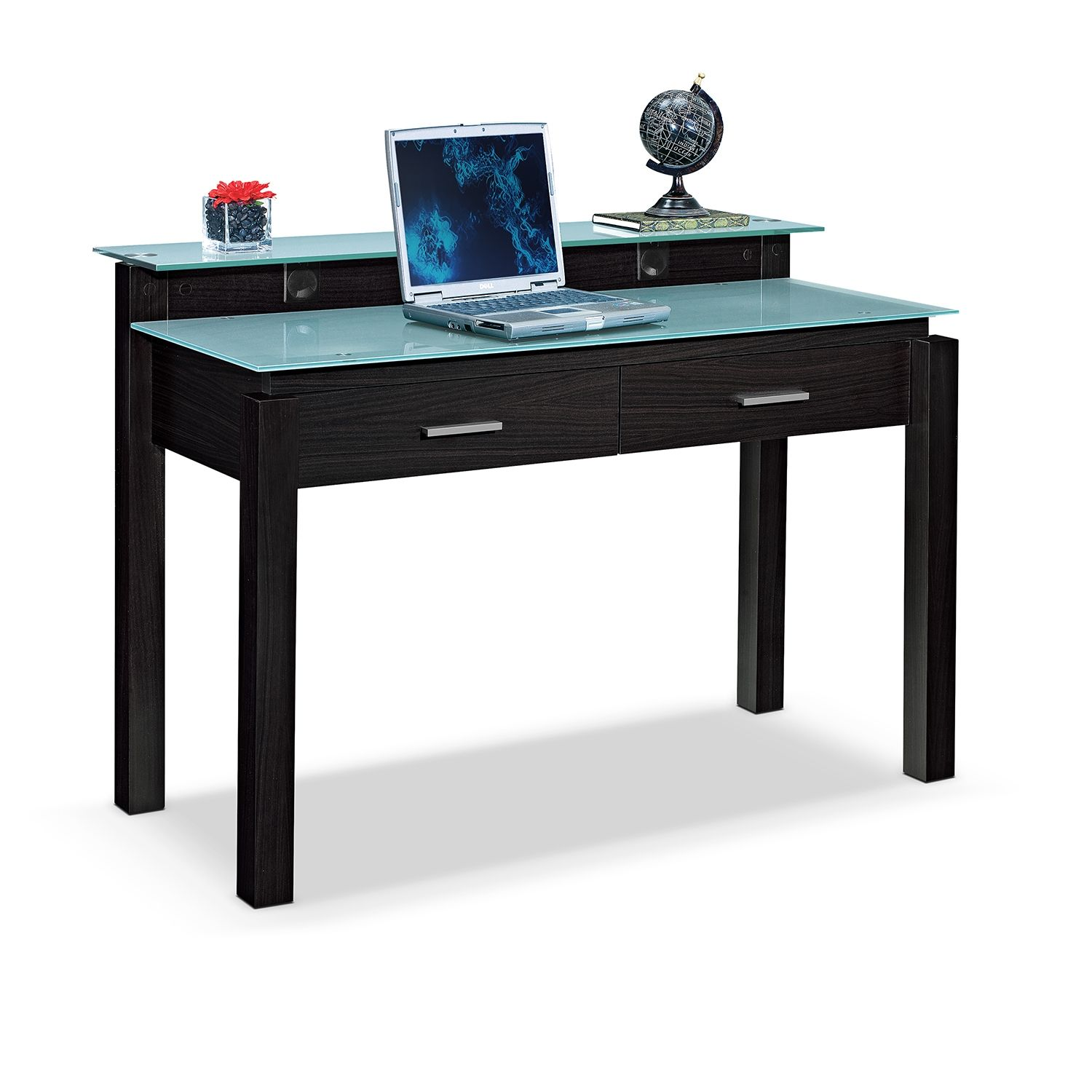 Full Form Our Crescent Desk Is Just The Thing To Complete Your