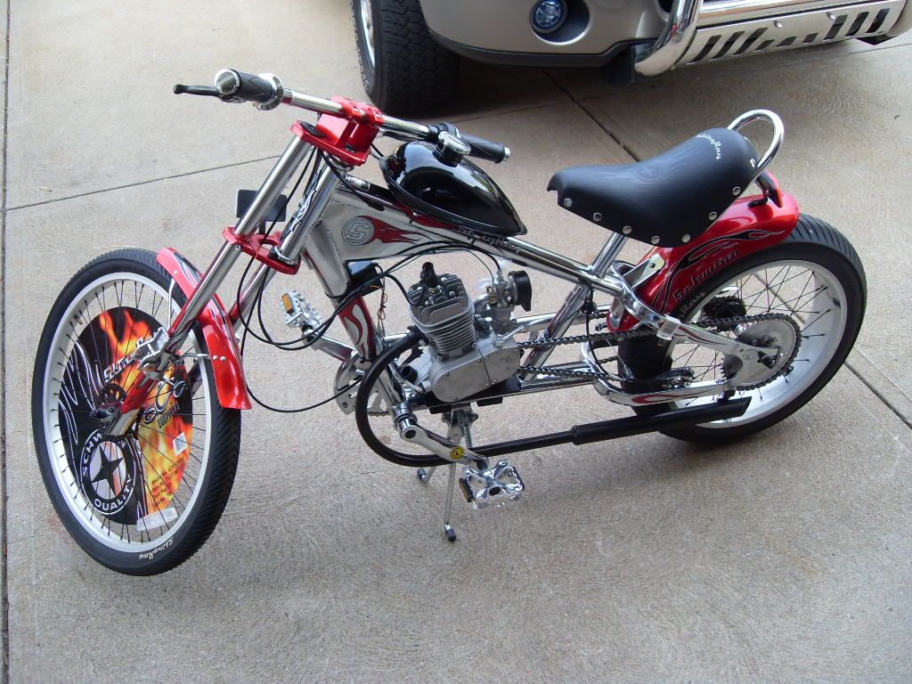Chopper Motor Pin By Daryl Derosia On Choppers Motorized Bicycle