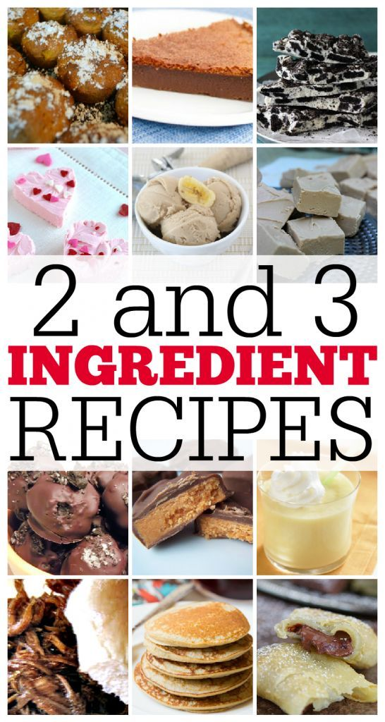 2 and 3 ingredient recipes round up pinterest recipes meals and this is my kind of cooking i dont like recipes with a million ingredients thisgirlslifeblog forumfinder Gallery