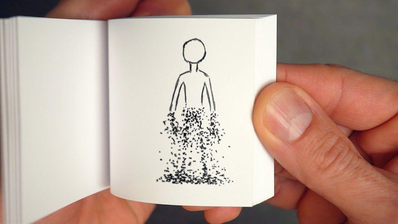 Disintegrating Flipbook Mr Stark I Don T Feel So Good Flip Book Animation Flip Book Flip Book Template