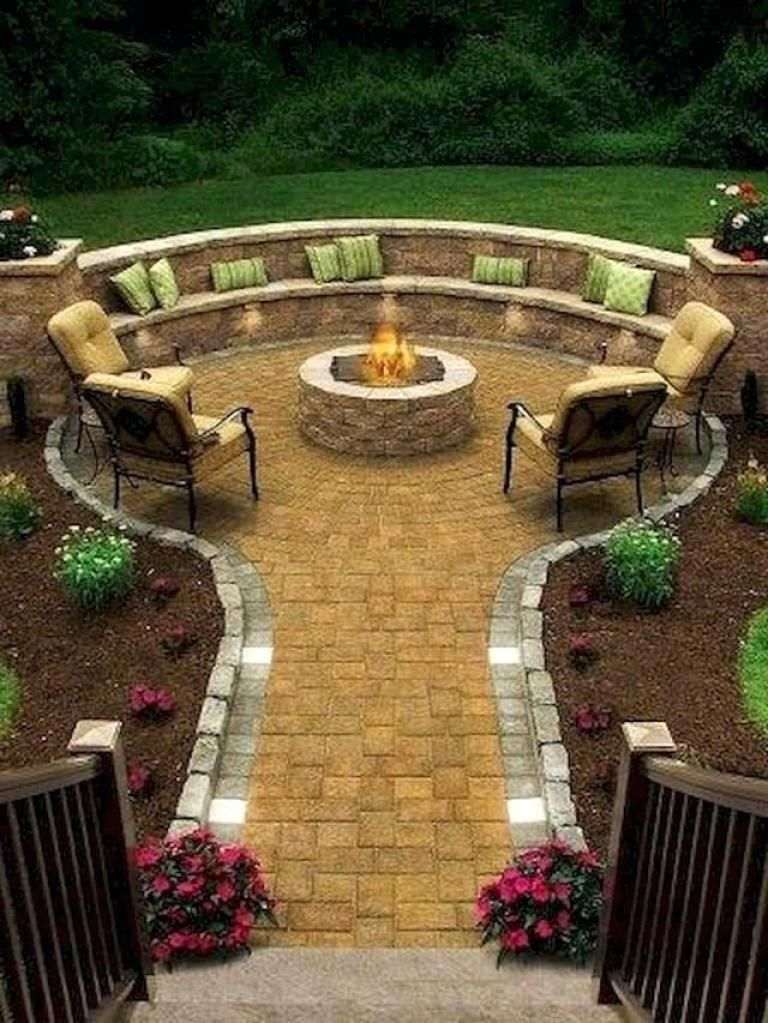 best beautiful small garden design ideas on a budget on best large backyard ideas with attractive fire pit on a budget id=42300