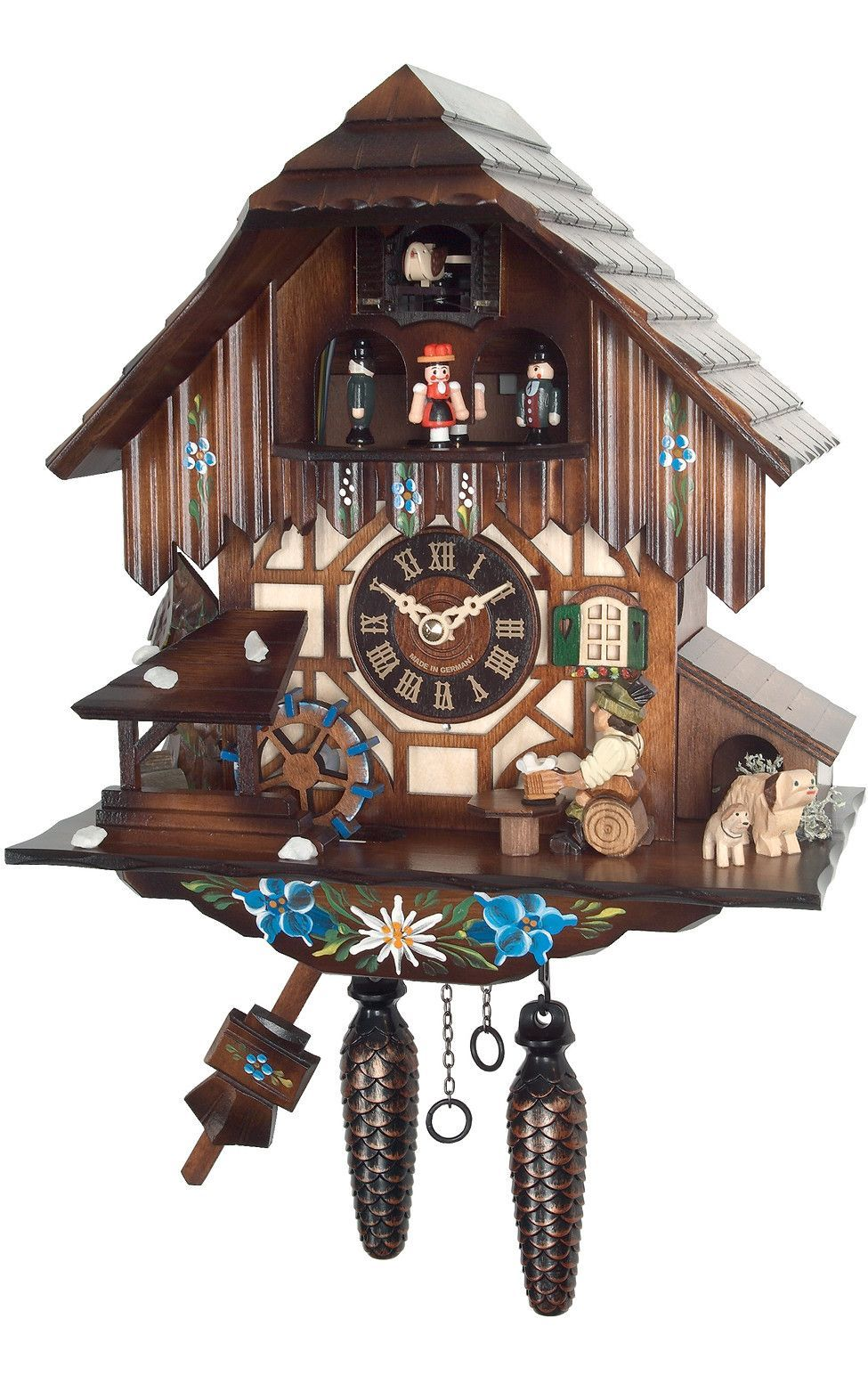 Engstler weight driven cuckoo wall clock products pinterest engstler weight driven cuckoo wall clock amipublicfo Images