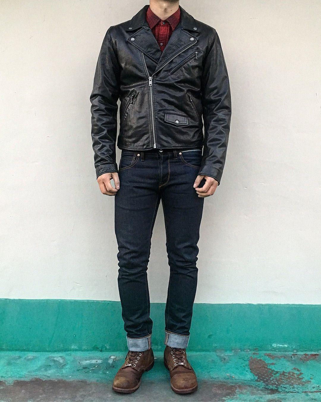 "Jaesung Lee on Instagram ""🔥🔥🔥 levis Moto Leather Jacket"