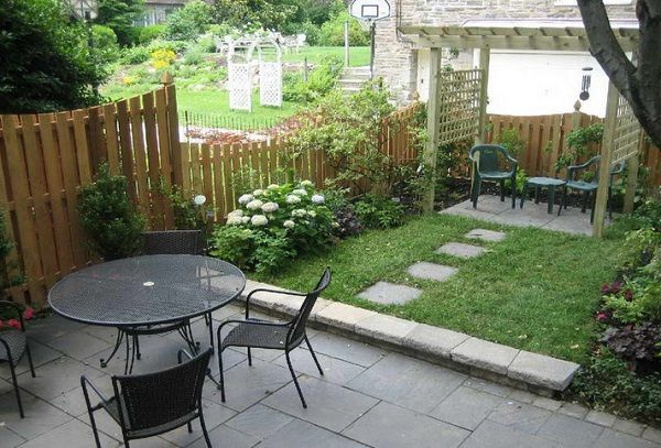 small garden ideas with games of outdoor furniture - Patio Ideas For Small Gardens