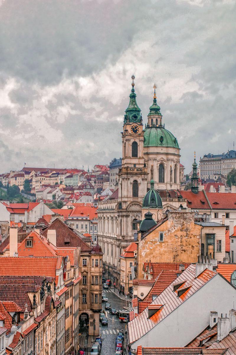 Best Rooftop Views In Prague En 2020 Praga Paisajes