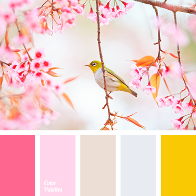 Warm, spring, bright and at the same time nice looking colors will fit perfectly in the room of a little girl and will bring colors and life to this room,.