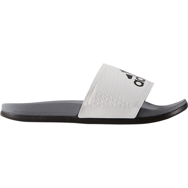 Best Selling Adidas Adilette Supercloud Plus Mens White/Grey Adidas Mens Casual