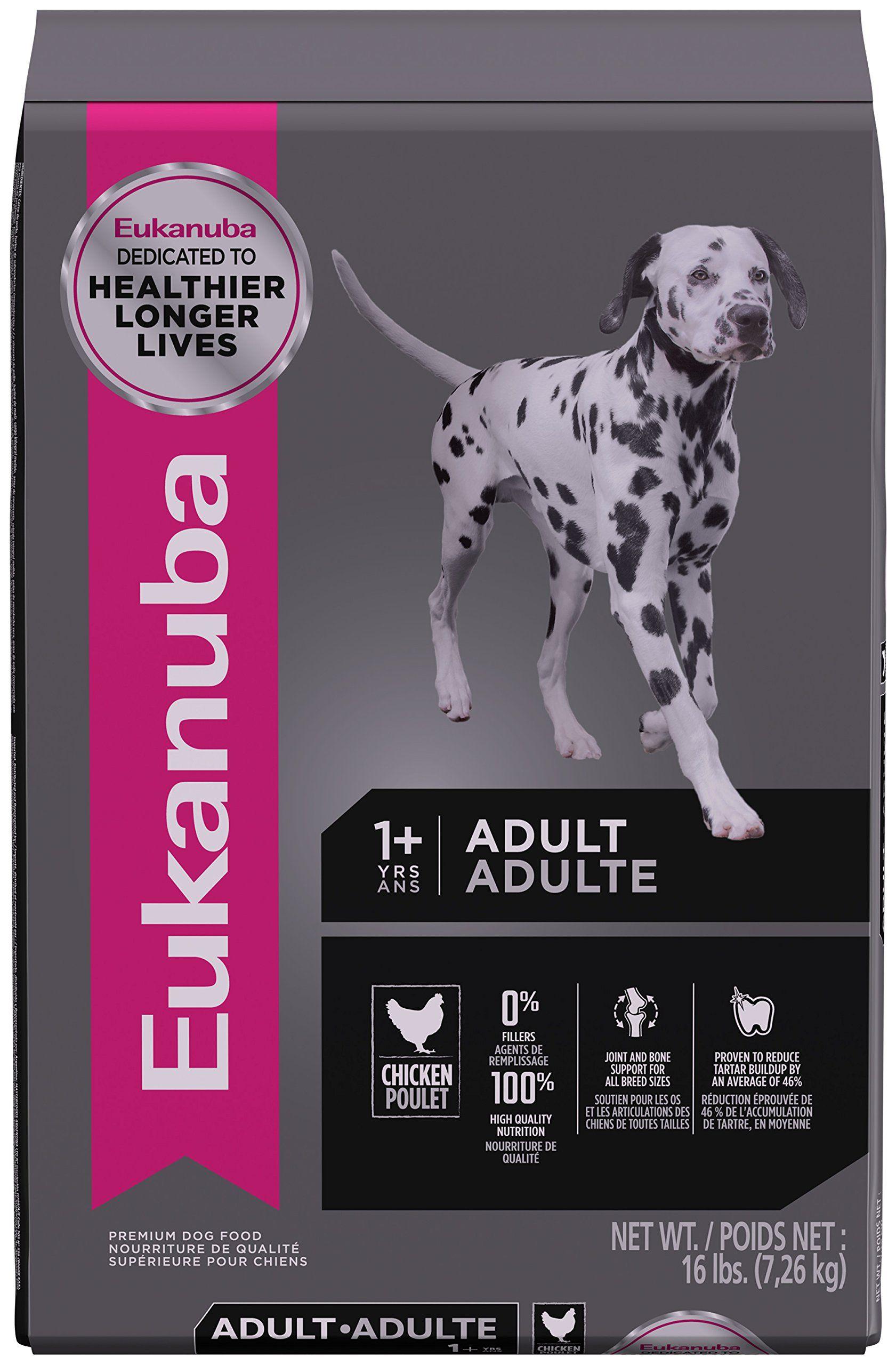 Eukanuba adult maintenance dog food 16 pounds click on