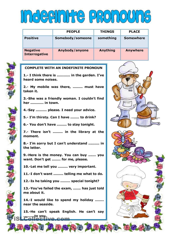 Indefinite Pronouns 2 Indefinite Pronouns Worksheets Indefinite Pronouns Pronoun Worksheets [ 1440 x 1018 Pixel ]