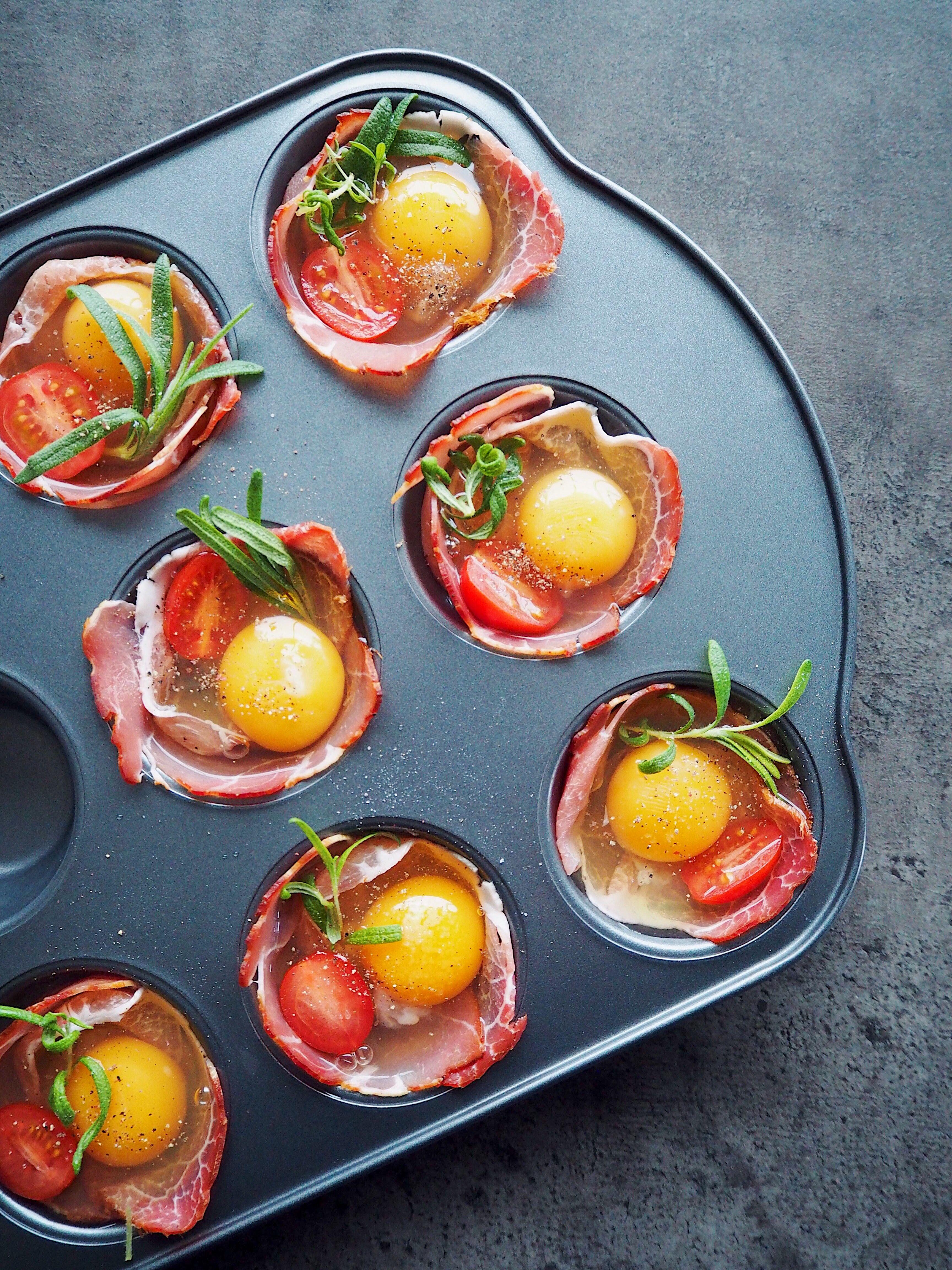 Simple æggemuffins Til Morgenbordet Eller Den Hurtige Frokost