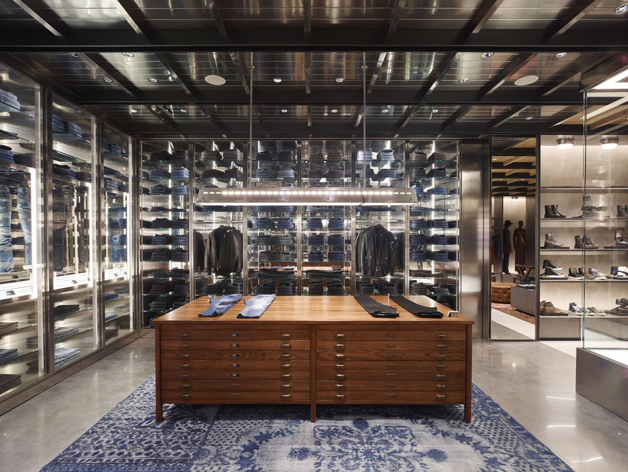 Diesel Flagship Ny Madison Avenue Wonderwall Diesel Store Shop Interiors Wonderwall