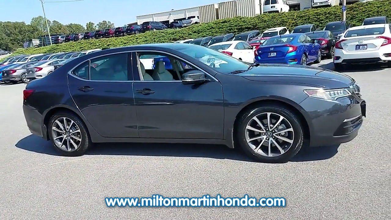 O Malley Honda >> Used 2015 Acura Tlx 4dr Sdn Fwd V6 At Milton Martin Honda