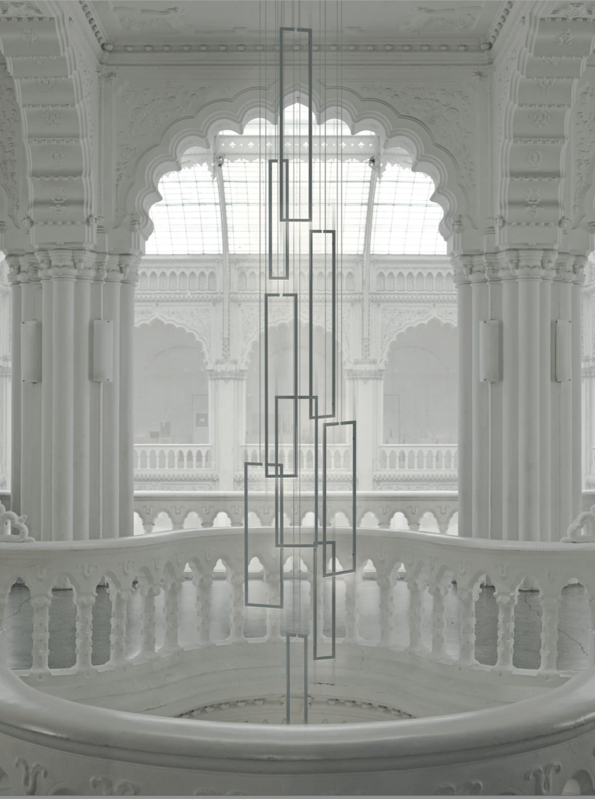 Room Lighting Design Software: FRAME Suspended, Open Aluminium Frames With LED Lights