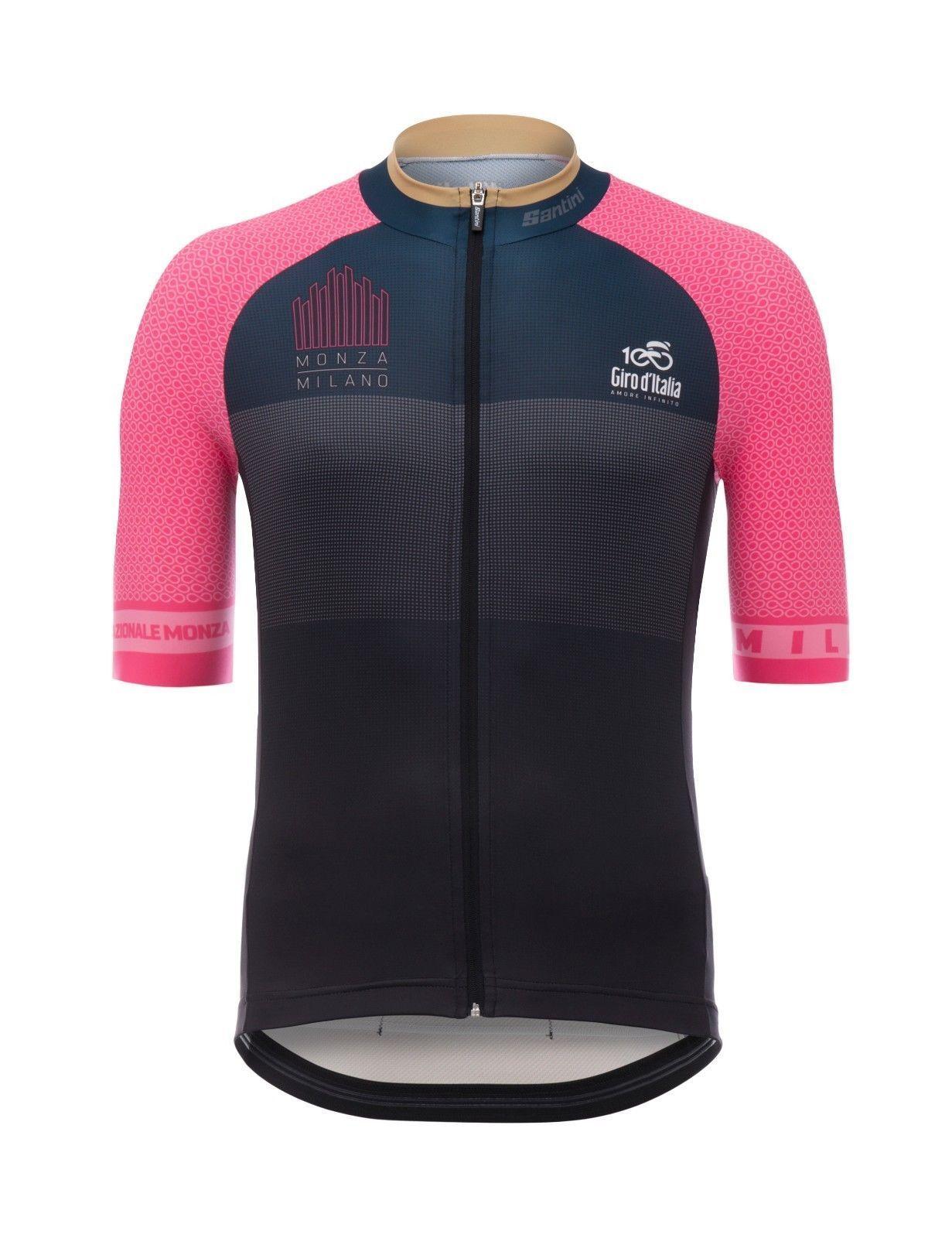 2017 Giro d/'Italia Stage 21 Monza Milano Cycling Bib Shorts by Santini
