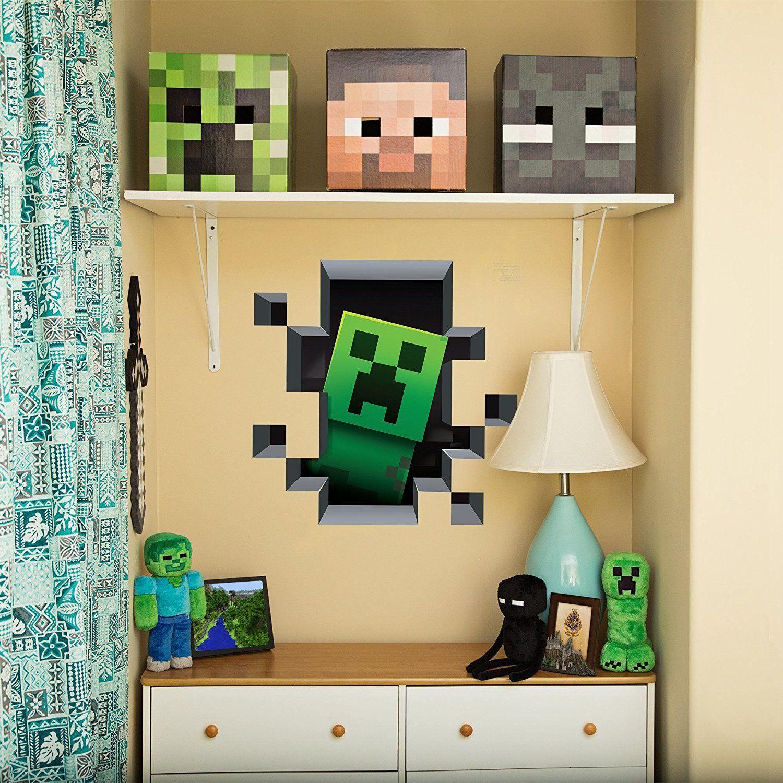 Minecraft Wandaufkleber 3erPack Creatures (mit Bildern