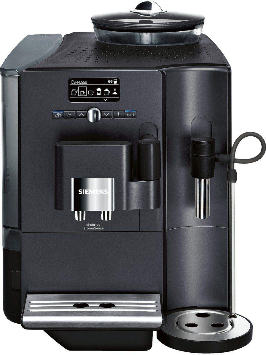Siemens Te711509de Kaffee Vollautomat Eq7 Plus Aromasense 2 1 L 15 Bar Externes Milchsystem Anthrazit Kaffee Vollautomat Kaffeevollautomat Kaffee