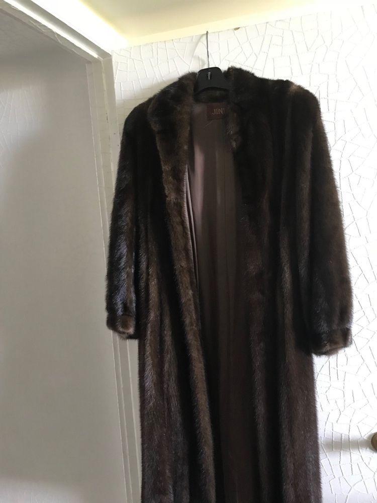 1a89a3a29 Jindo) Fur mink long coat size s-m women  fashion  clothing  shoes ...