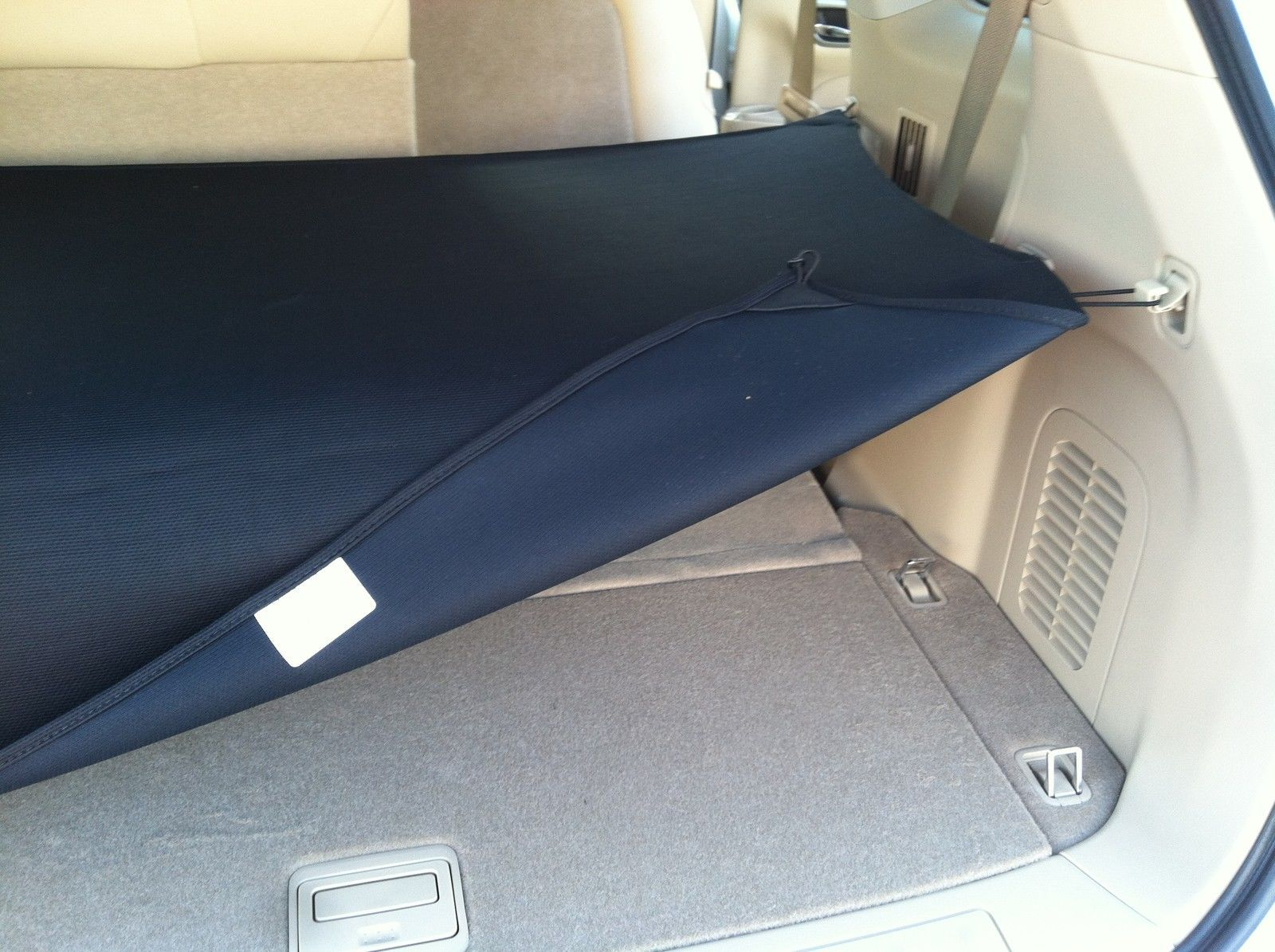 New oem 2013-2016 nissan pathfinder rear foldable cargo cover ...