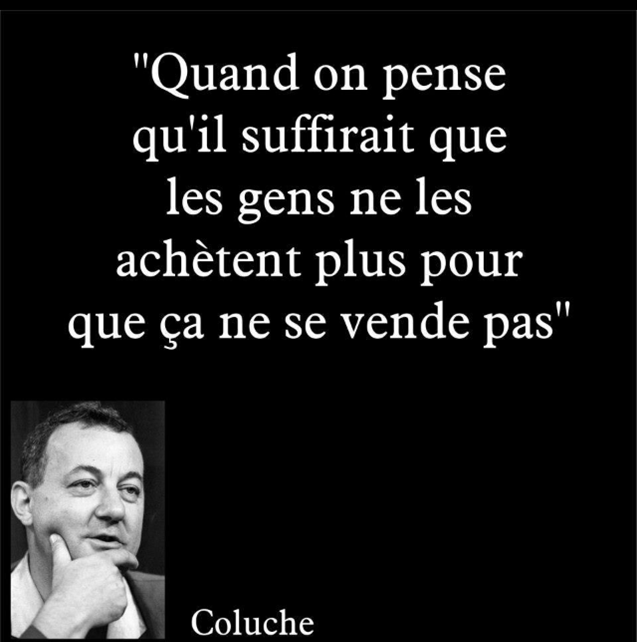 coluche 23 citations citations pinterest coluche citation et la vache. Black Bedroom Furniture Sets. Home Design Ideas
