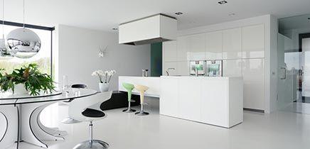 Moderne interieur inrichting royale design villa in Breda te koop ...