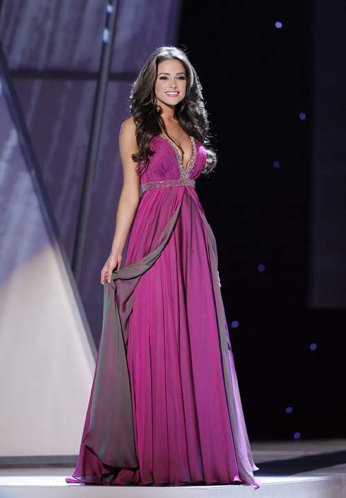 Miss USA Olivia Culpo - LOVE her dress. | Hairstyles | Pinterest ...