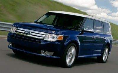 Ford Flex In Blue With Silver Top With Desired Features 46 300