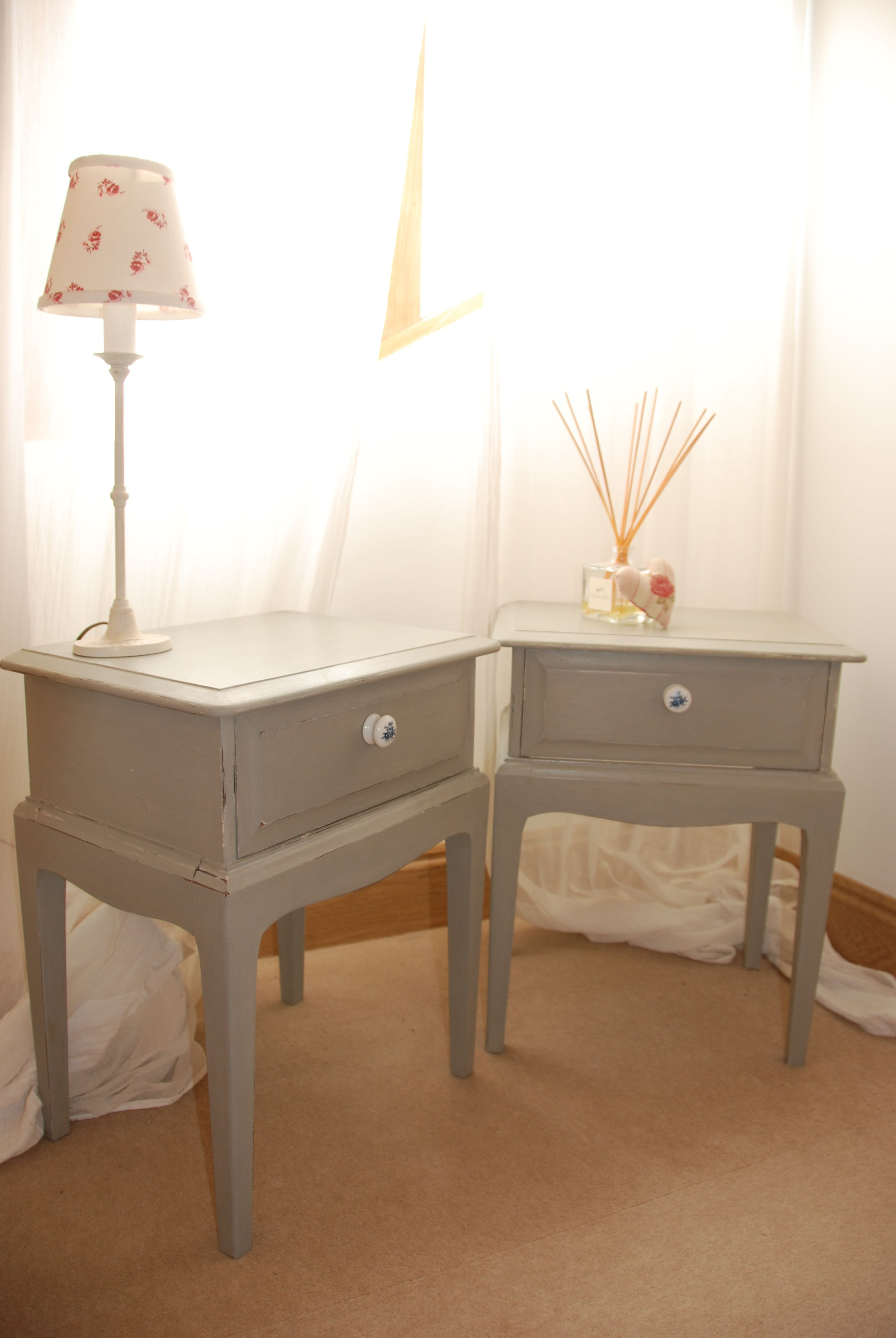 Uncategorized hand painted childrens table and chairs foter - X Sold X Pair Of Painted Stag Bedside Cabinets Paris