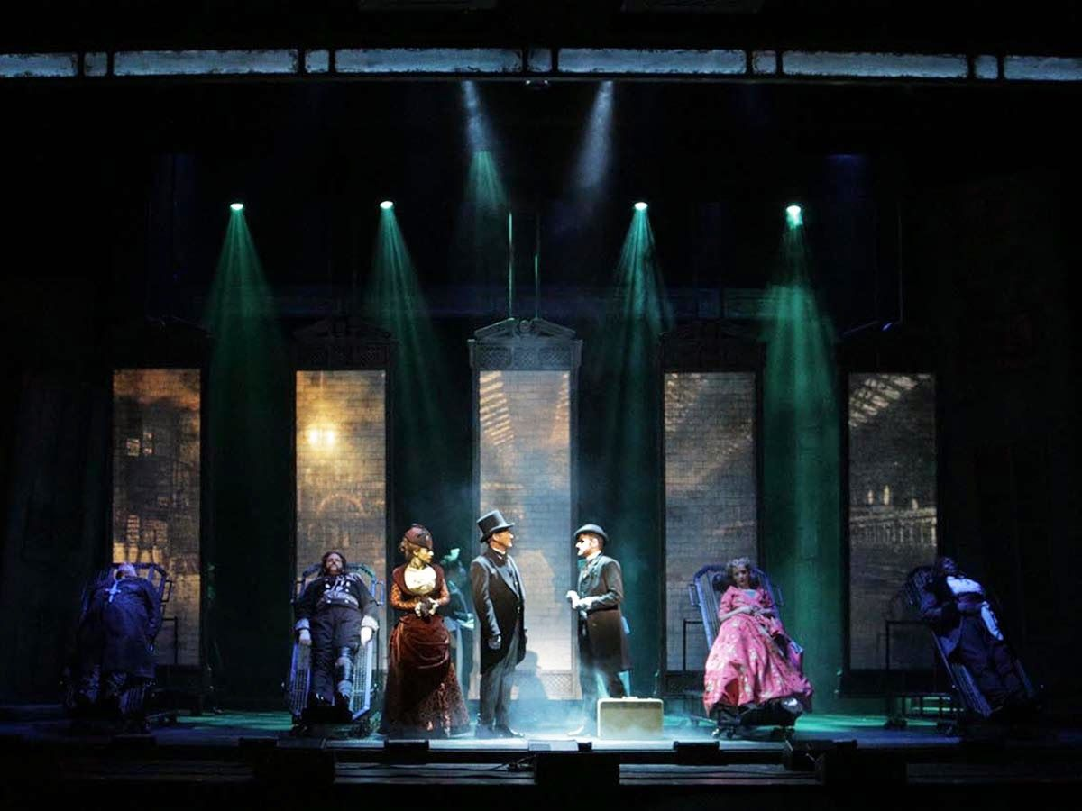 Image Result For Jekyll And Hyde The Musical Set Design Set Design Theatre Scenic Design Set Design