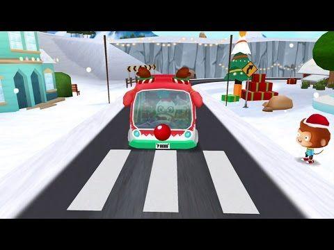Dr. Pandas Weihnachts Bus - Gratis Kinderspiel für iOS, Android und Kindle Fire