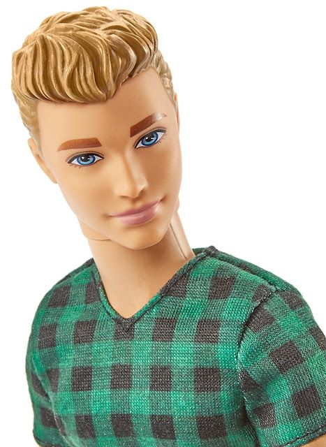 2017 Ken Fashionistas Doll - Checked Style Doll: