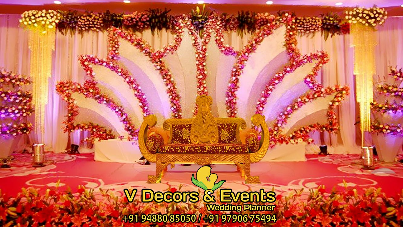 Pin by v decors and events on wedding planner in pondicherry india wedding ethnic wedding wedding stage decor wedding indian wedding decorations wedding cards wedding ideas south indian weddings bride makeup junglespirit Choice Image