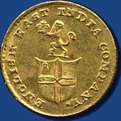 India British - EAST INDIA COMPANY - madras, 1/3 Mohur o. J. (1820) 3, 88 Gr / 917 - Fb. 1590    Dealer  Darmstädter stamp auction    Auction  Minimum Bid:  400.00EUR