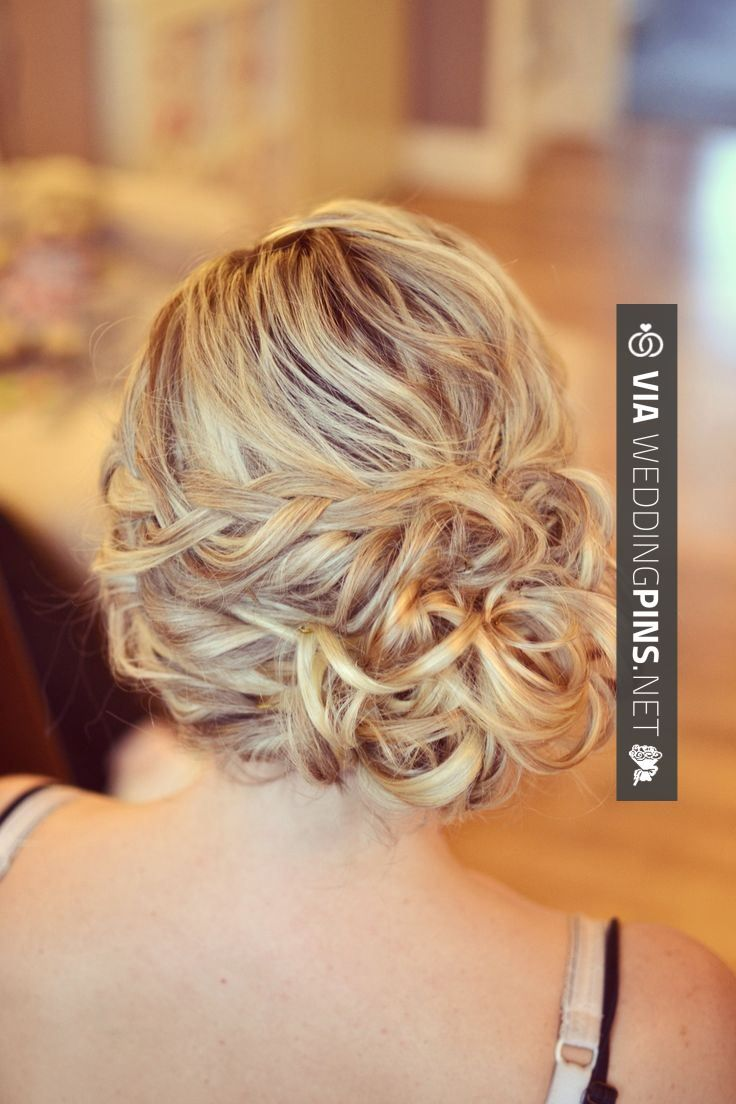 yes - side bun wedding hair wedding hair bride side bun
