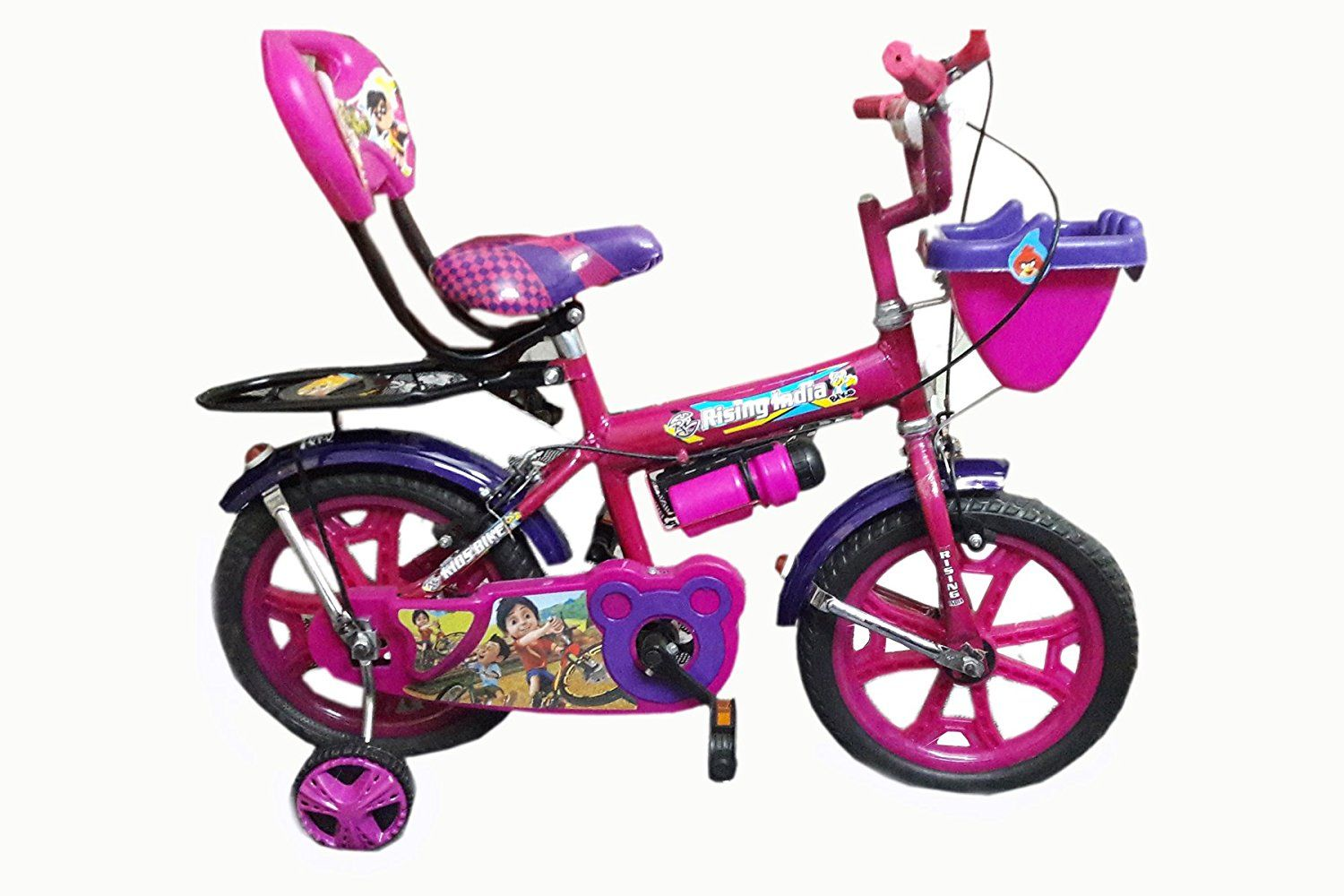 """Buy Rising India 14"""" Pink Kid's Bicycle For 35 Years"""