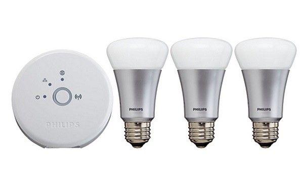Philips Hue Lampen : Philips hue starterspakket e bridge en lampen