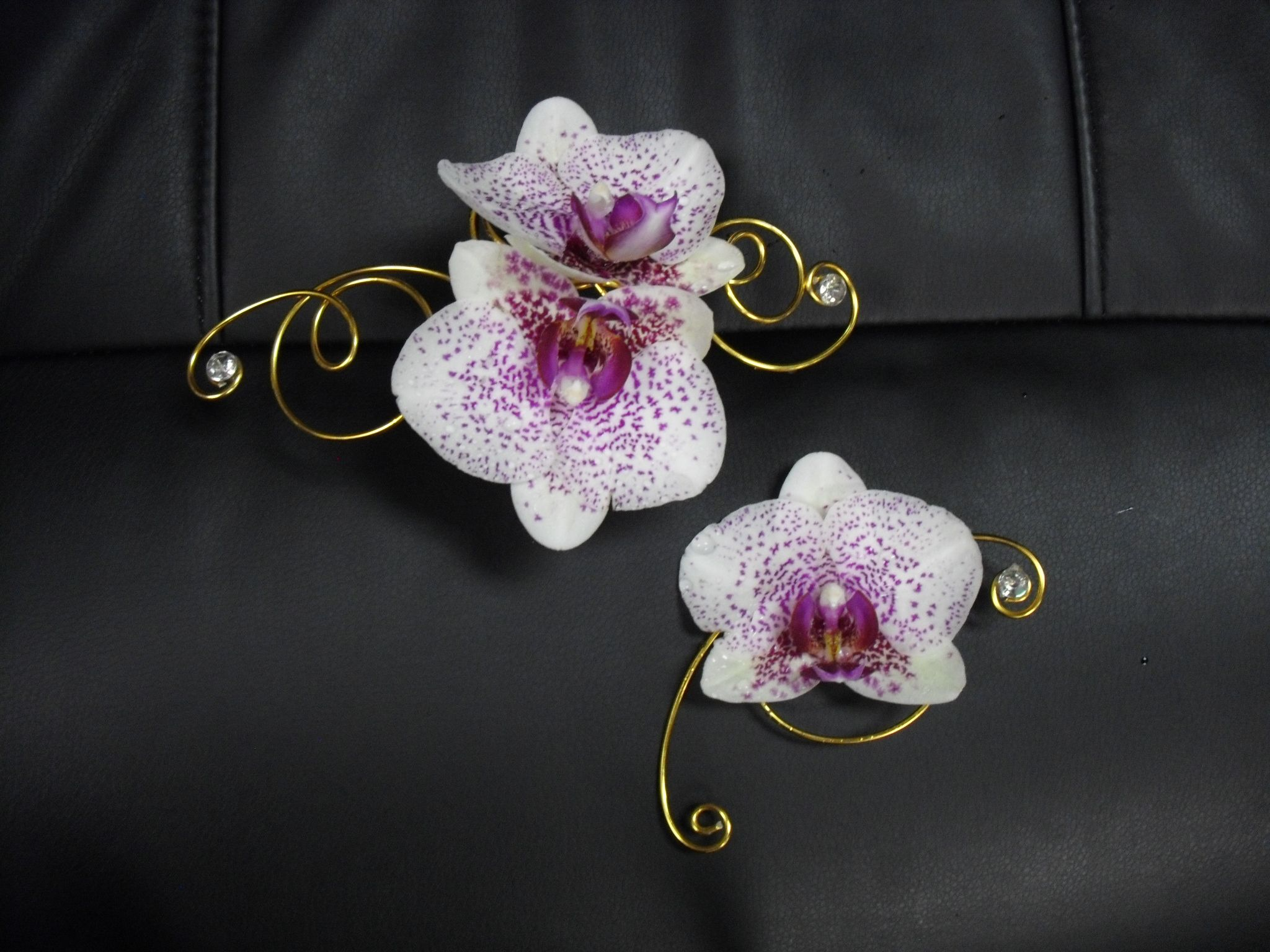 pink , white flower ring , corsage for wedding , events and prom ...