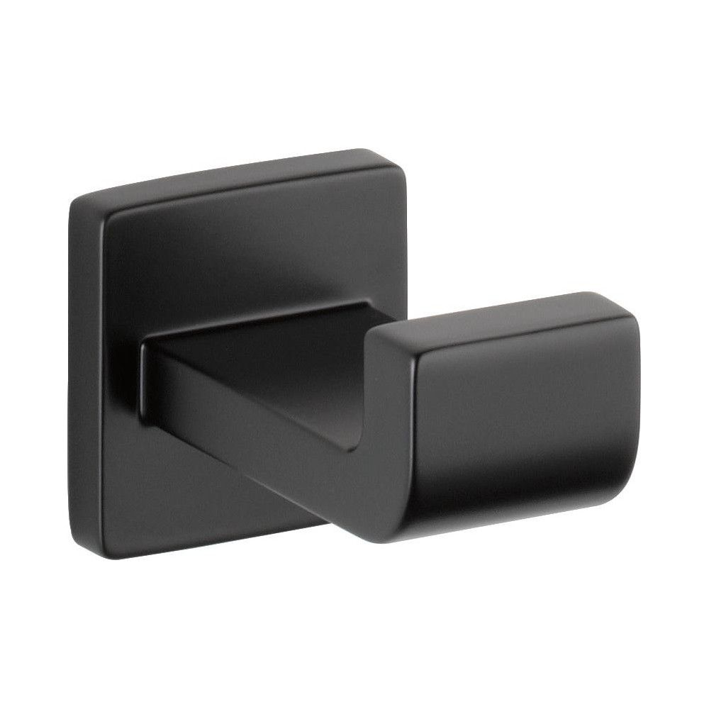 A Matte Black Kitchen Makes A Bold Statement In This: Delta Faucet 77535 Ara Wall Mounted Single Robe Hook