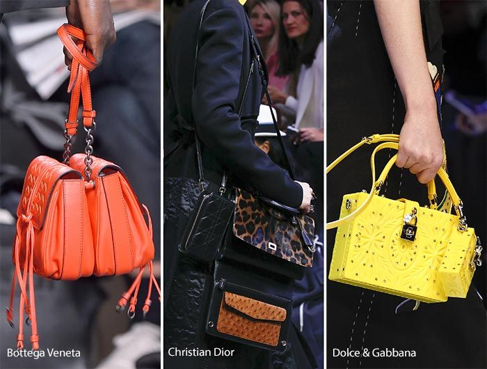 Fall Winter 2017 Handbag Trends Carrying Multiple Bags At A Time