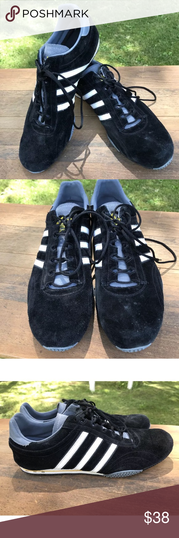 Adidas Zx Racer Mens Sneaker Size 12 Shoe Blue Black