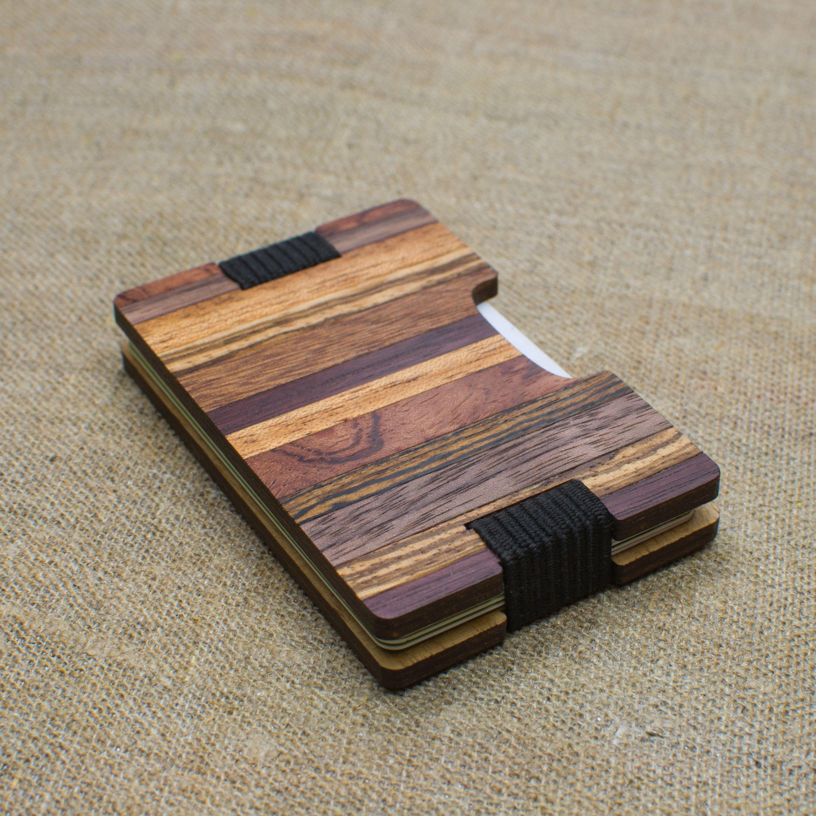 Http Etsy Me 2d0sjqy Handmade Wooden Wallet Credit Card Holder Minimalistic Koshelyok Dlya Plastikovyh Kart I Kupyur Iz Wood Wallet Wood Working Gifts Wooden Bag