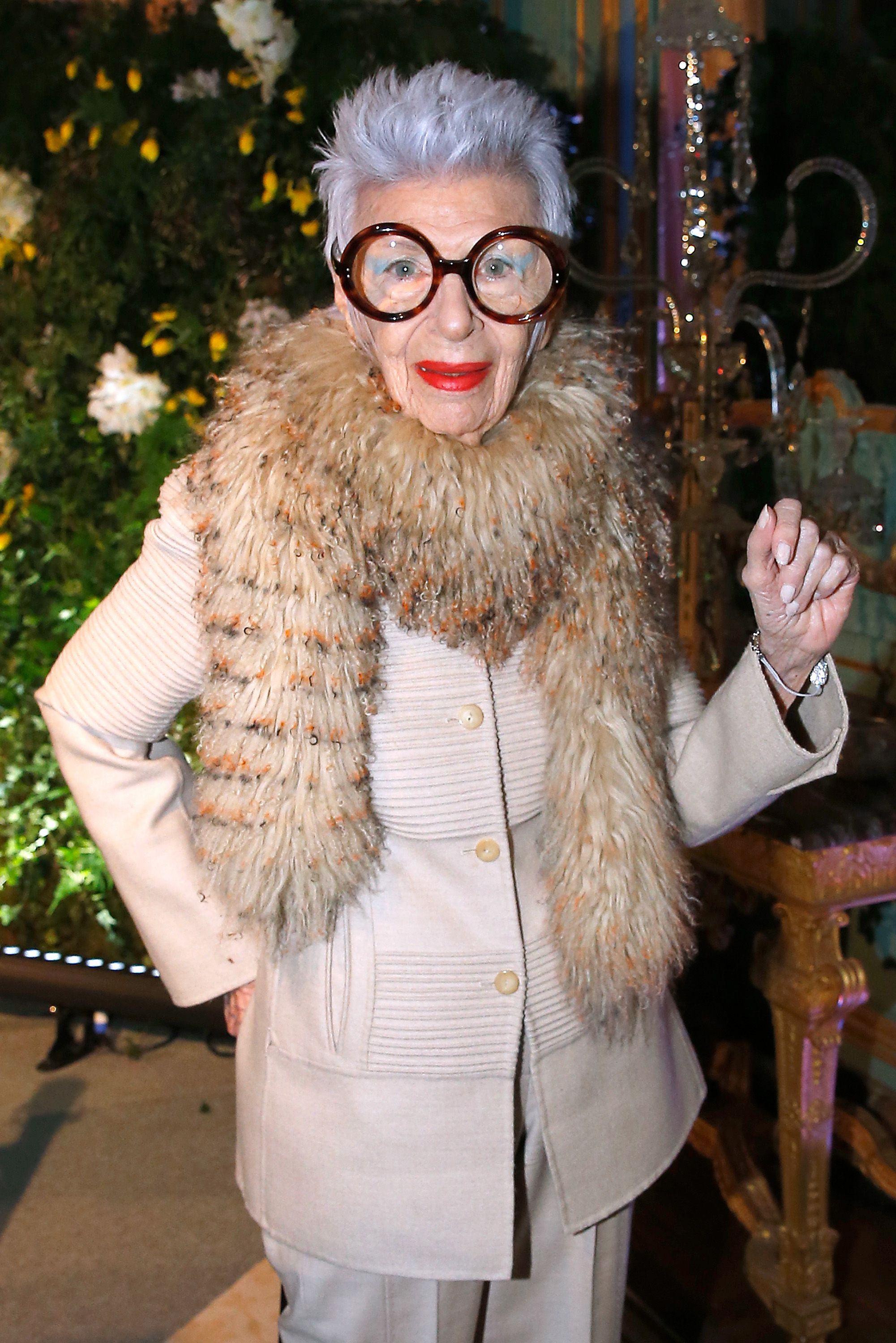 Iris Apfel is getting her own line of emojis recommend