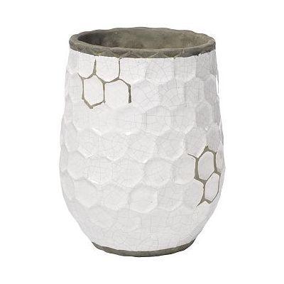 West Elm Hive Vase, Wide, Short, White by West Elm $24