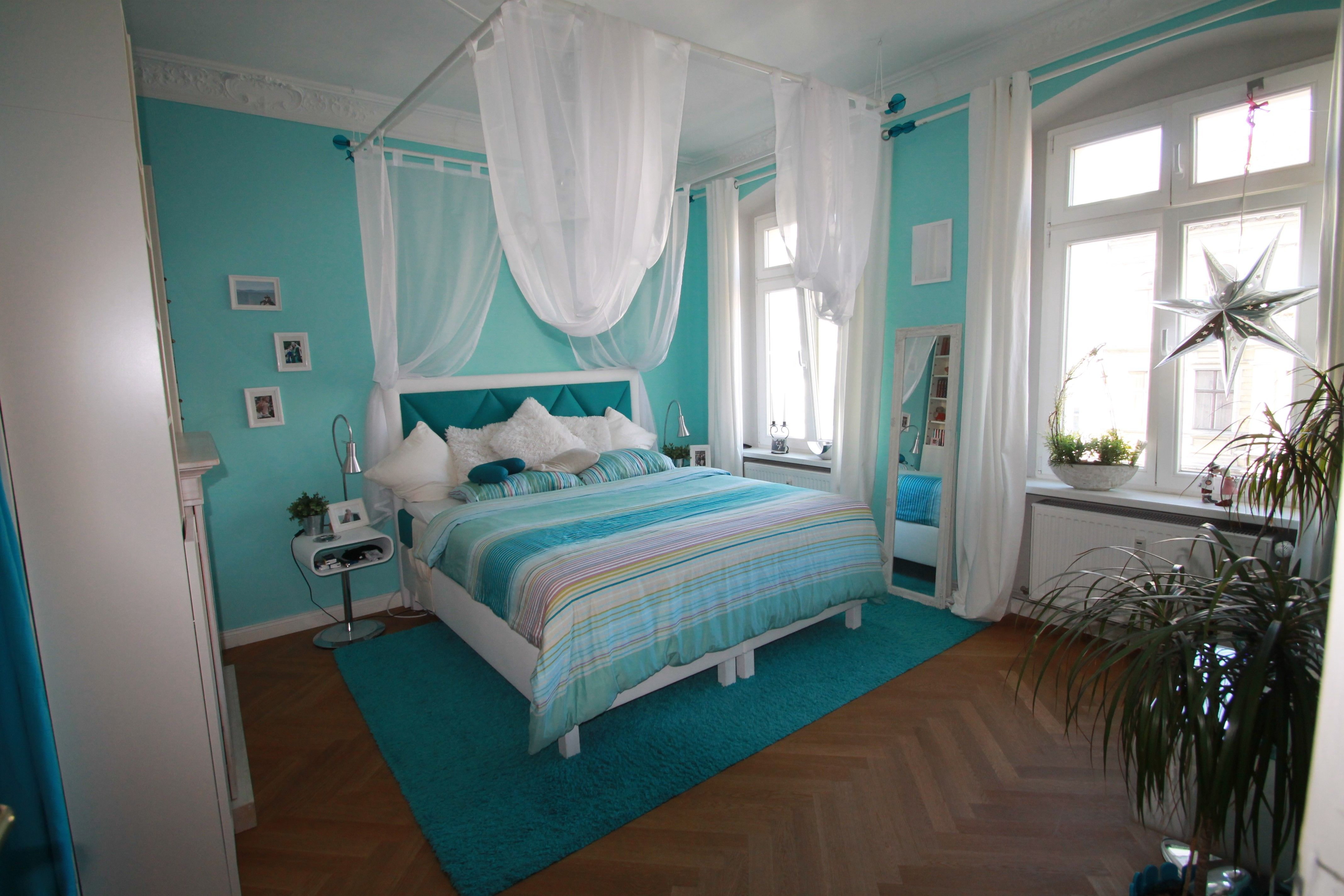 Schlafzimmer/ Süße Träume In Türkis